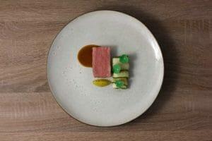 Agnello, kiwi, cetriolo