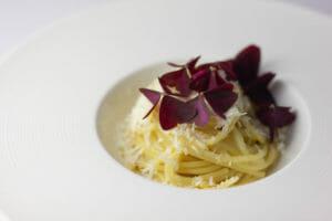 Spaghetti asperula e acetosella