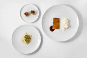 Pollo in tre servizi