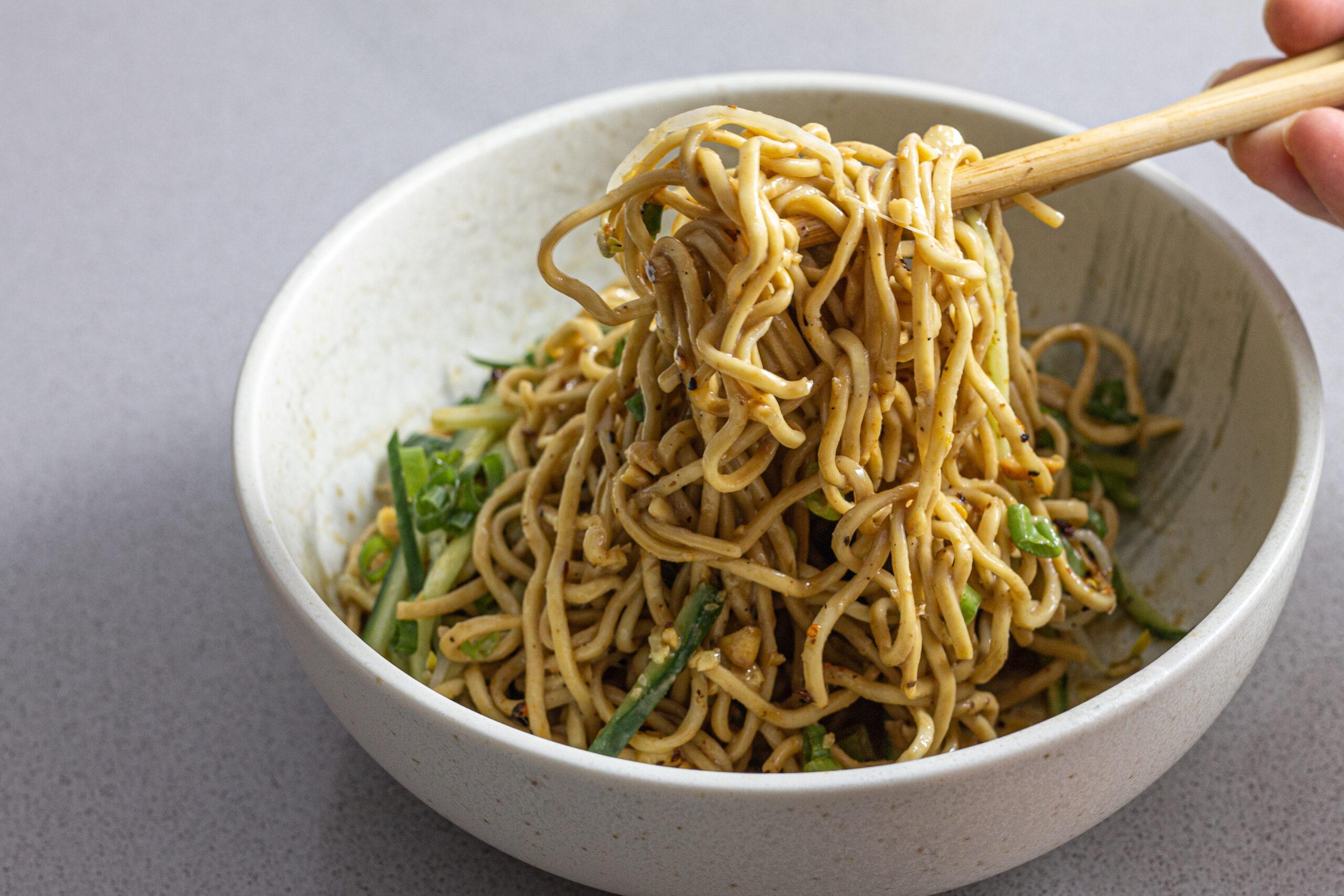 Liang mian noodle